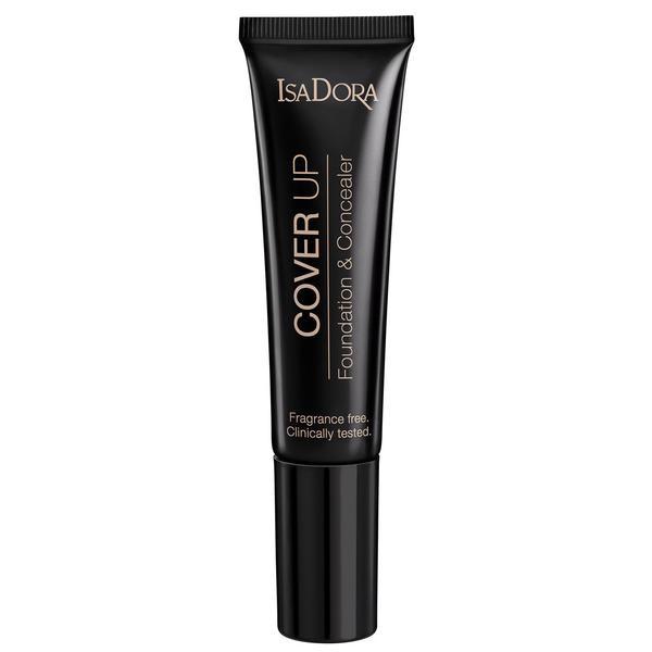 Fond de Ten si Corector - Cover Up Foundation & Concealer Isadora 35 ml, nuanta 64 Classic Cover