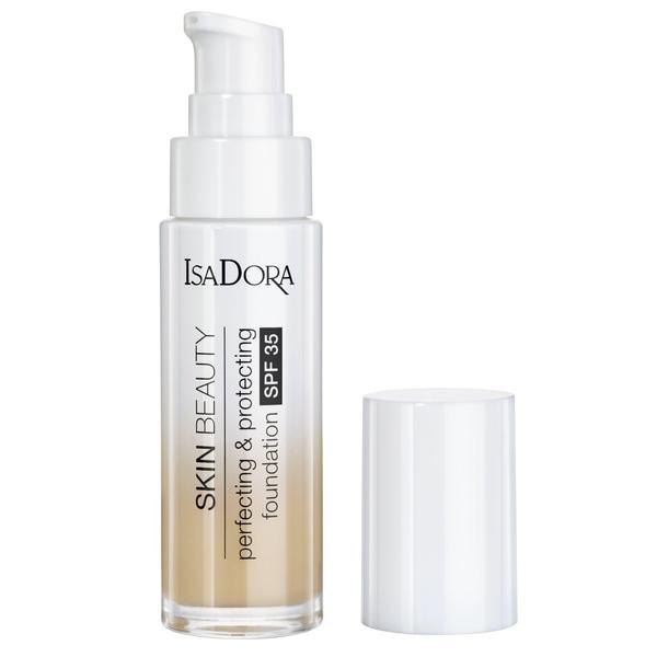 Fond de Ten Protector - Skin Beauty Perfecting & Protecting Foundation SPF 35 Isodora 30 ml, nuanta 05 Light Honey
