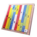 Bete de matematica din lemn in cutie - Oktane