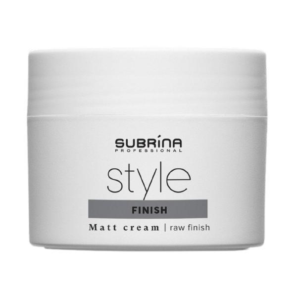 Crema cu Efect de Matifiere pentru Par - Subrina Professional Style Matt Cream, 100 ml imagine produs