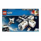 LEGO City - Space Port Statie spatiala lunara 60227 pentru 6+