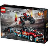 LEGO Technic - 42106 Camion si motocicleta pentru cascadorii pentru 8+ ani
