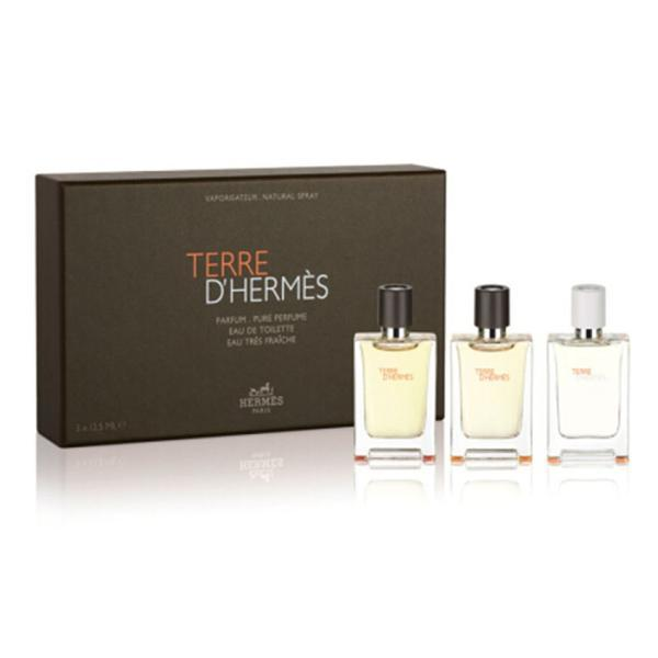 Set cadou : pure + terre d'hermes + eau fraiche 3x12.5ml Hermes Terre d'hermes imagine produs