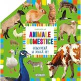 Carte pop-up: Animale domestice. Descopera si joaca-te, editura Girasol