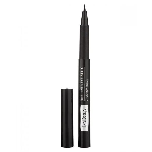Tus de Ochi - Fine Liner Eye Stylo Isadora, nuanta 01 Carbon Black