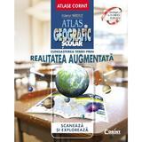 Atlas geografic scolar. Cunoasterea Terrei prin realitatea augmentata - Octavian Mandrut, editura Corint