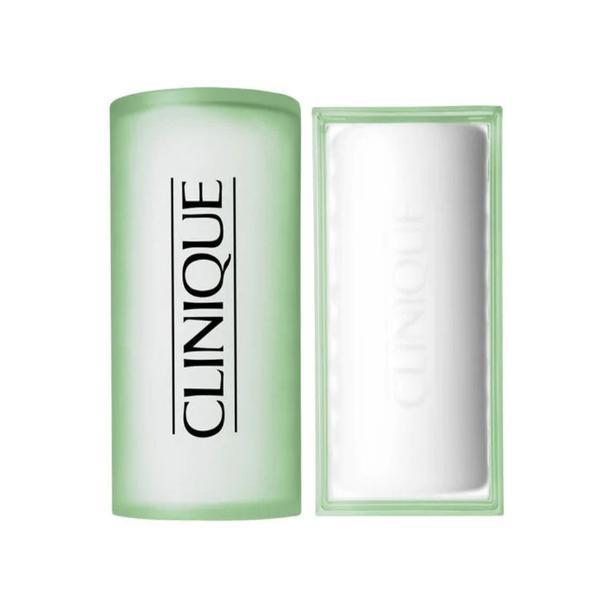 Sapun curatare faciala pentru ten uscat sau mixt Clinique step 1 100g imagine
