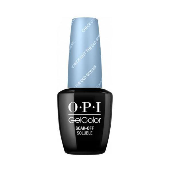Oja Semipermanenta OPI Gel Color – Check out the Geysirs, 15ml imagine