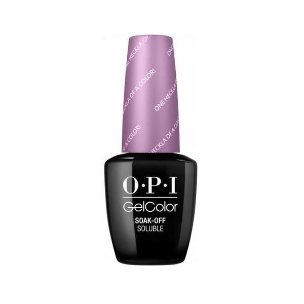 Oja Semipermanenta OPI Gel Color – One Heckla of a Color, 15 ml imagine