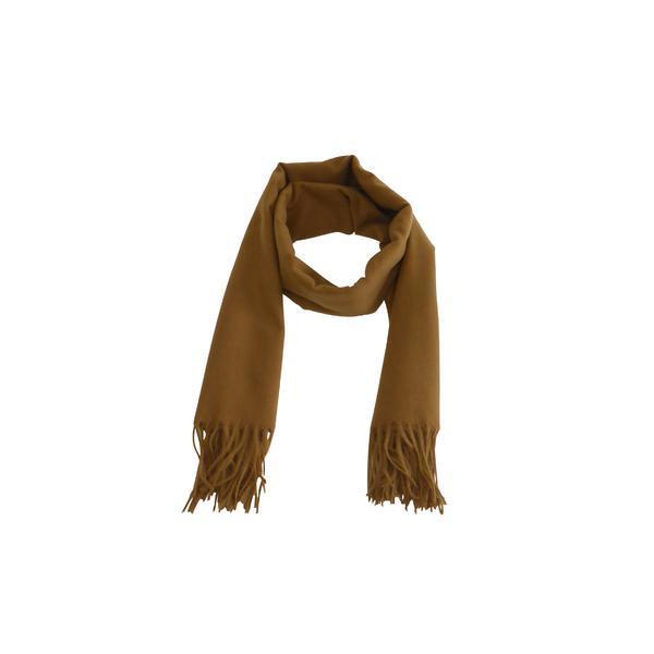 Fular 180 cm x 78 cm, uni, galben – Univers Fashion