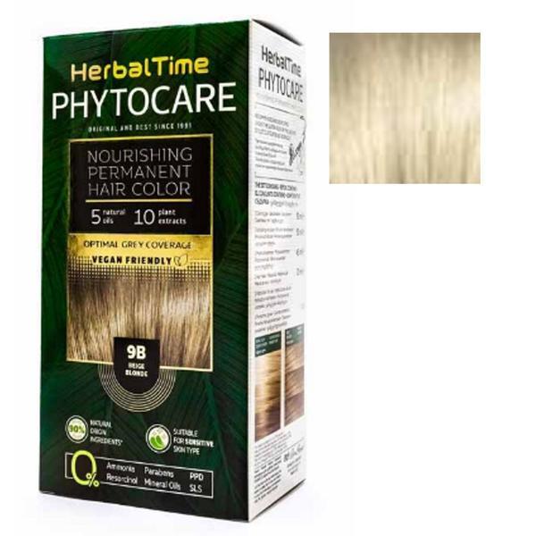 Vopsea pentru Par Herbal Time Phytocare, nuanta 10N imagine