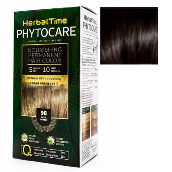 Vopsea pentru Par Herbal Time Phytocare Rosa Impex, nuanta 3N imagine