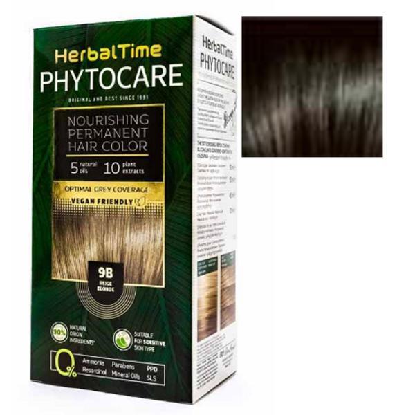 Vopsea pentru Par Herbal Time Phytocare Rosa Impex, nuanta 4N imagine