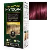 Vopsea pentru Par Herbal Time Phytocare Rosa Impex, nuanta 4R