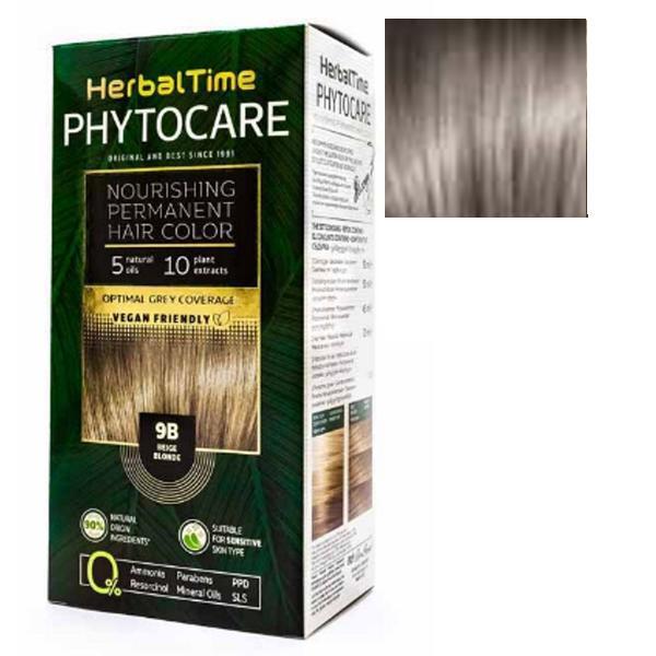 Vopsea pentru Par Herbal Time Phytocare Rosa Impex, nuanta 8A imagine