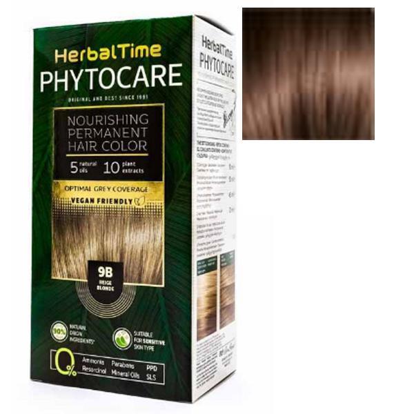 Vopsea pentru Par Herbal Time Phytocare Rosa Impex, nuanta 7NC imagine