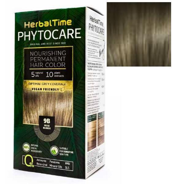 Vopsea pentru Par Herbal Time Phytocare Rosa Impex, nuanta 7N imagine