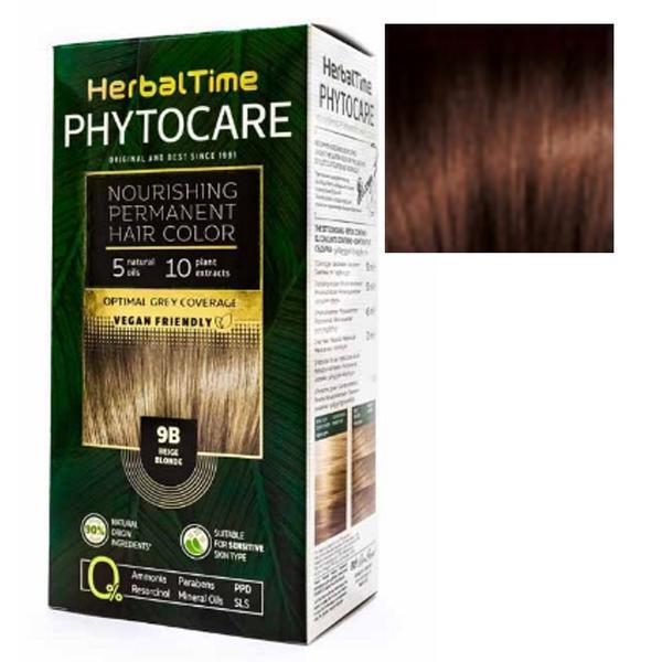 Vopsea pentru Par Herbal Time Phytocare Rosa Impex, nuanta 5C imagine