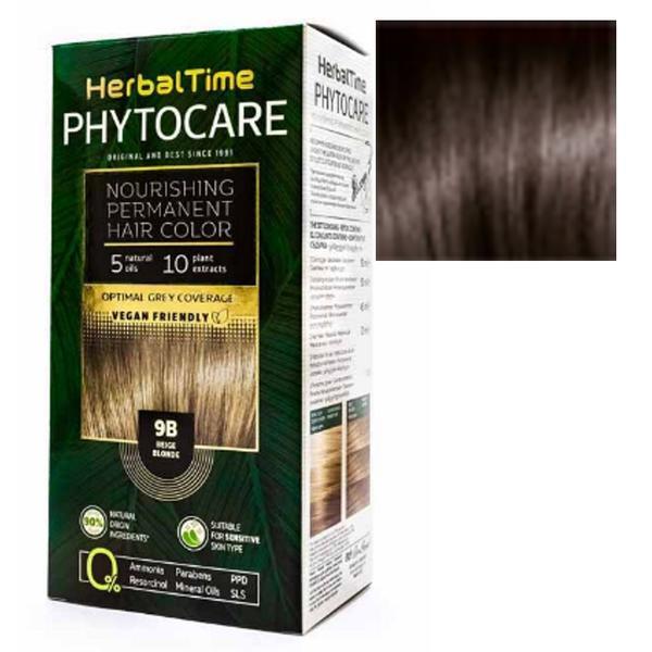 Vopsea pentru Par Herbal Time Phytocare Rosa Impex, nuanta 5NA imagine