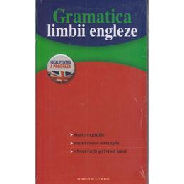 Gramatica limbii engleze, editura Litera