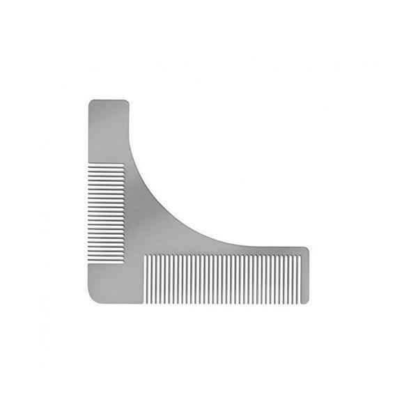 Pieptan contur barba din Otel Inoxidabil - Conceptool esteto.ro