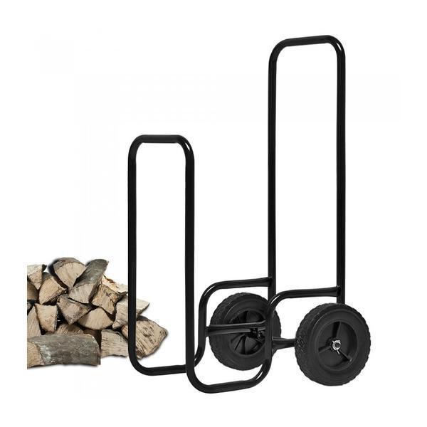 Carucior pentru lemne de foc, Negru – Caerus Capital