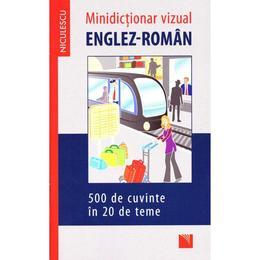 Minidictionar vizual englez-roman, editura Niculescu