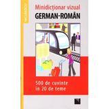 Minidictionar vizual german-roman, editura Niculescu