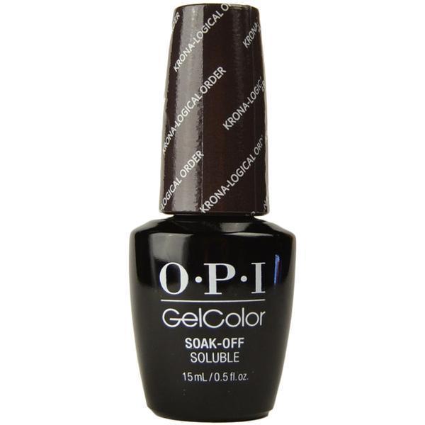 Oja Semipermanenta OPI Gel Color –Krona Logical Order, 15ml esteto.ro