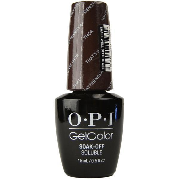 Oja Semipermanenta OPI Gel Color –That's What Friends Are Thor, 15ml