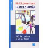 Minidictionar vizual francez-roman, editura Niculescu