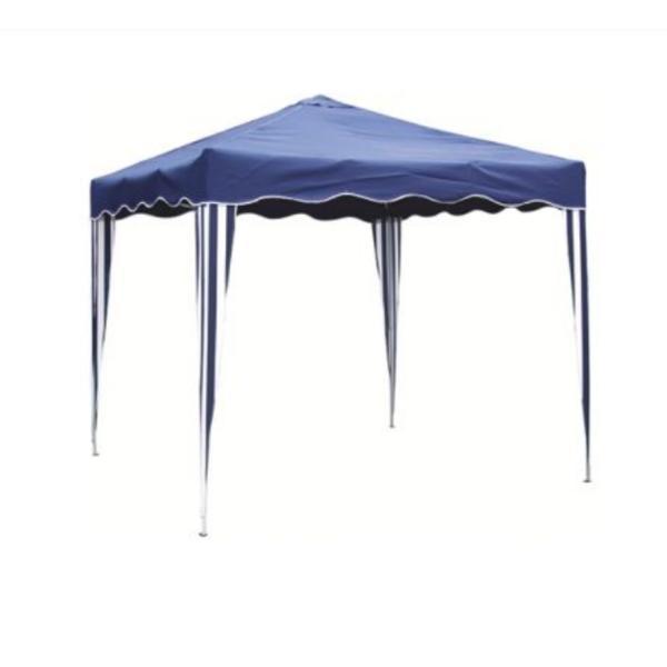 Pavilion patrat 3x3m, nailon, albastru – Kocin