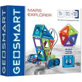 Geosmart Geowheels Set Mars Explorer - 51 Piese - Set Magnetic