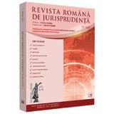 Revista romana de jurisprudenta Nr.2/2020, editura Universul Juridic