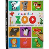 O vizita la zoo. Carte sonora, editura Prut