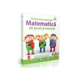 Prima Mea Carte De Matematica De Jucat Si Exersat 5 Ani+, editura Gama