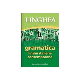 Gramatica limbii italiene contempotane, editura Linghea