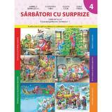 Sarbatori cu surprize caiet de lucru clasa pregatitoare semestrul 1 - Gabriela Barbulescu, editura Litera