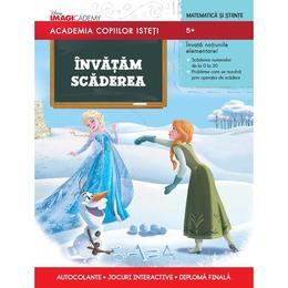 Academia Copiilor Isteti - Invatam Scaderea - 5+, editura Litera
