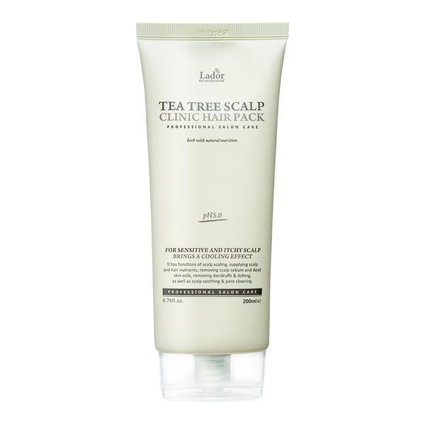Masca pentru scalp anti-matreata, Lador, Tea tree Scalp Clinic Pack, 200gr