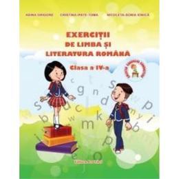 Exercitii de limba si literatura romana cls 4 - Adina Grigore, editura Ars Libri