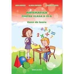 Matematica cls 4 caiet ed.2016 - Adina Grigore, editura Ars Libri