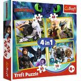 Puzzle 4 in 1. Cum sa iti dresezi dragonul 3