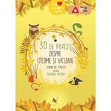 30 de povesti despre istetime si viclenie. Volum de povesti bilingv: maghiar-roman, editura Aquila