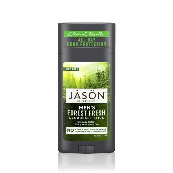 Jason Deodorant natural stick Forest Fresh cu miros proaspat de padure pt barbati, 71 g