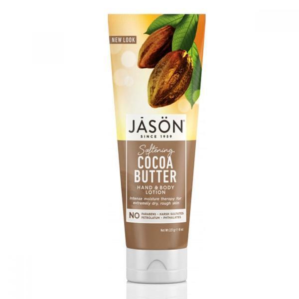Lotiune hidratanta pentru mâini și corp cu unt de cacao Jason 227g