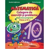 Matematica cls 4 culegere de exercitii si probleme dupa noua programa - Aurelia Arghirescu, editura Carminis