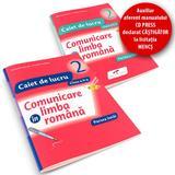 Set caiet Comunicare in limba romana cls 2 partea I+partea II - Iliana Dumitrescu, editura Cd Press