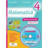 Matematica - Clasa a 4-a - Teorie si exercitii + CD - Iliana Dumitrescu, Nicoleta Ciobanu, editura Cd Press