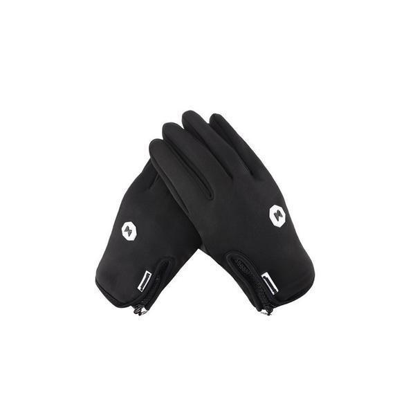 Mănuși de iarnă Wozinsky universal sport, impermeabile – compatibile cu ecran tactil, negre